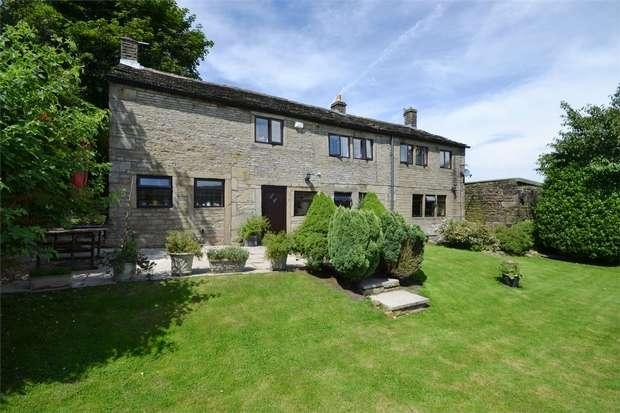 5 Bedrooms Detached House for sale in Old Mount Road, Marsden, HUDDERSFIELD, West Yorkshire