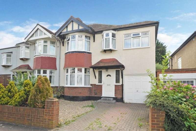 4 Bedrooms Semi Detached House for sale in Norton Avenue, Surbiton, KT5