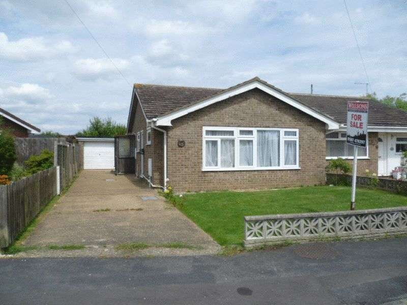 2 Bedrooms Semi Detached Bungalow for sale in 56 Marian Avenue, Mablethorpe