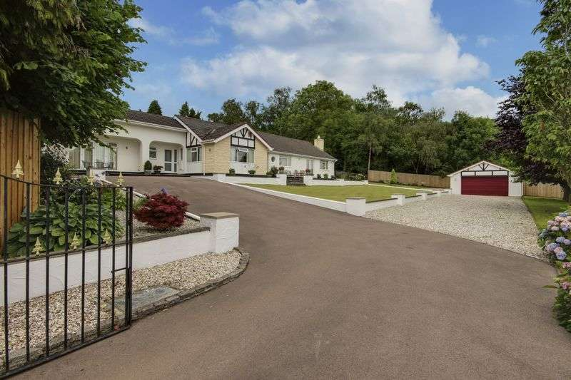 5 Bedrooms Detached Bungalow for sale in Catsash Road, Newport