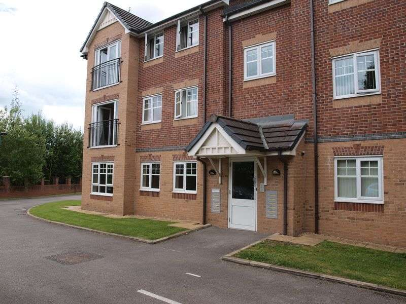 2 Bedrooms Flat for sale in Eton, Court, Carriage Drive, Northwich CW8 1GX