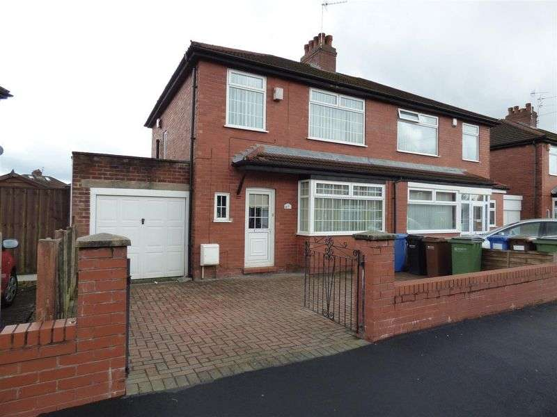 3 Bedrooms Semi Detached House for sale in Barlow Fold Road, Stockport