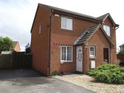 2 Bedrooms Semi Detached House for sale in Weston-Super-Mare, Somerset