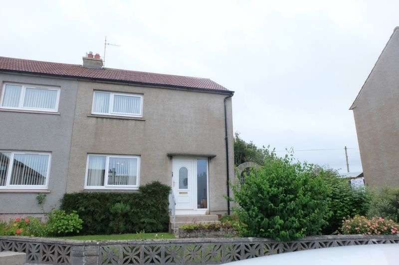 2 Bedrooms Semi Detached House for sale in Hill Place, Thurso