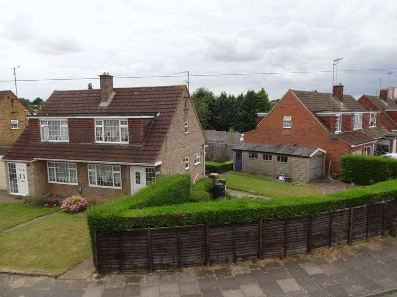 3 Bedrooms Semi Detached House for sale in Nappsbury Road, Luton