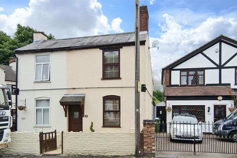 2 Bedrooms Semi Detached House for sale in Chapel Street, Heath Hayes