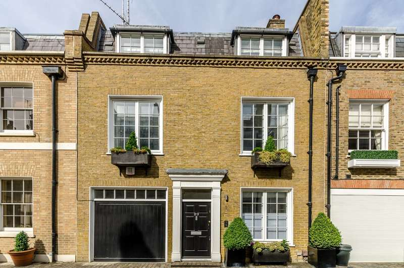 3 Bedrooms House for sale in Clabon Mews, Chelsea, SW1X