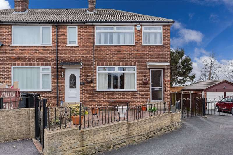 3 Bedrooms End Of Terrace House for sale in Parkville Place, Leeds, West Yorkshire, LS13