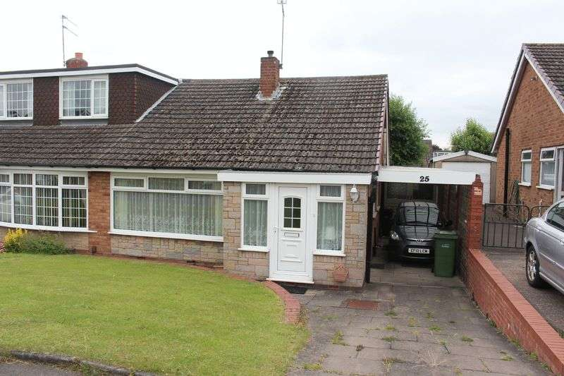 3 Bedrooms Semi Detached Bungalow for sale in KINGSWINFORD, Denleigh Road