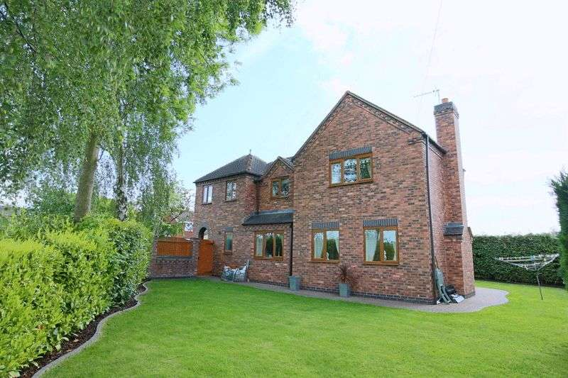 5 Bedrooms Detached House for sale in Glebe Lane, Gnosall, Stafford