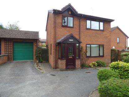 3 Bedrooms Detached House for sale in Tanyfron Road, Tanyfron, Wrexham, Wrecsam, LL11