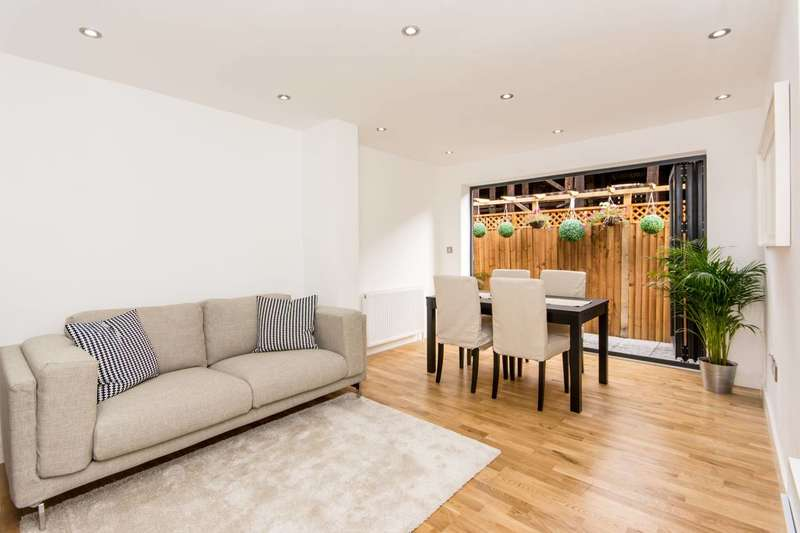 2 Bedrooms House for sale in Argyle Place, Hammersmith, W6
