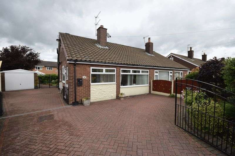 2 Bedrooms Semi Detached Bungalow for sale in Millfield Crescent, Milton