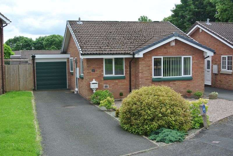 2 Bedrooms Detached Bungalow for sale in Houseman Close, Aqueduct, Telford, Shropshire.