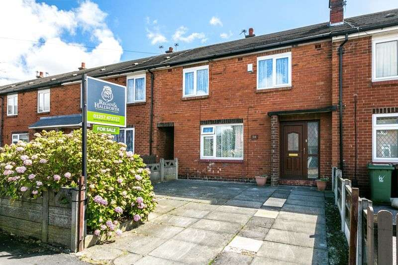 3 Bedrooms Terraced House for sale in Randall Avenue, Shevington, WN6 8HN