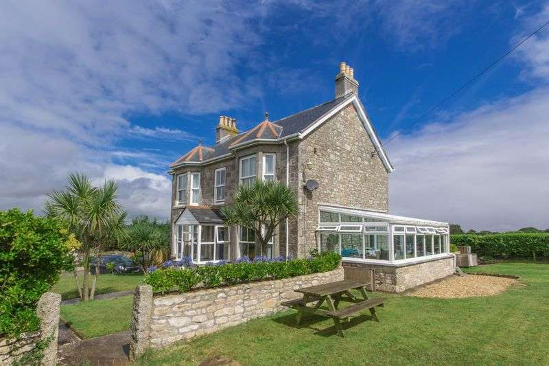 4 Bedrooms Detached House for sale in Late Victorian detached home with panoramic views including St Michael's Mount