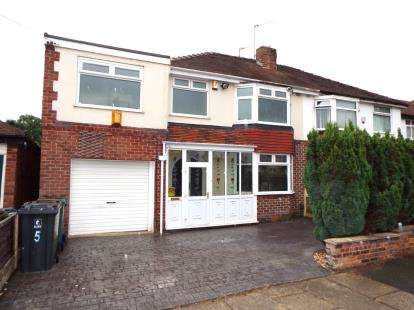 4 Bedrooms Semi Detached House for sale in Alexander Drive, Unsworth, Bury, Greater Manchester, BL9