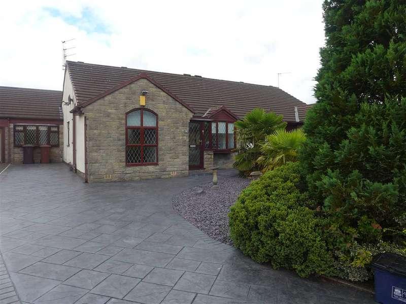 3 Bedrooms Semi Detached Bungalow for sale in Lower Fields, Lowerhouse, Burnley