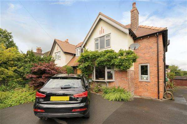 3 Bedrooms Semi Detached House for sale in Alderley Road, Prestbury