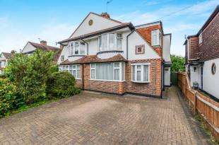 4 Bedrooms Semi Detached House for sale in Park Avenue West, Stoneleigh, Surrey