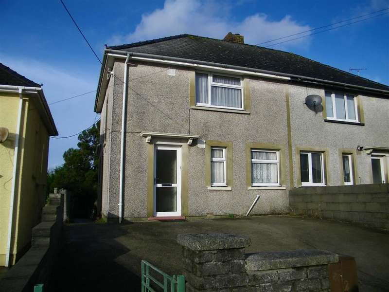 2 Bedrooms Semi Detached House for sale in Priory Road, Milford Haven
