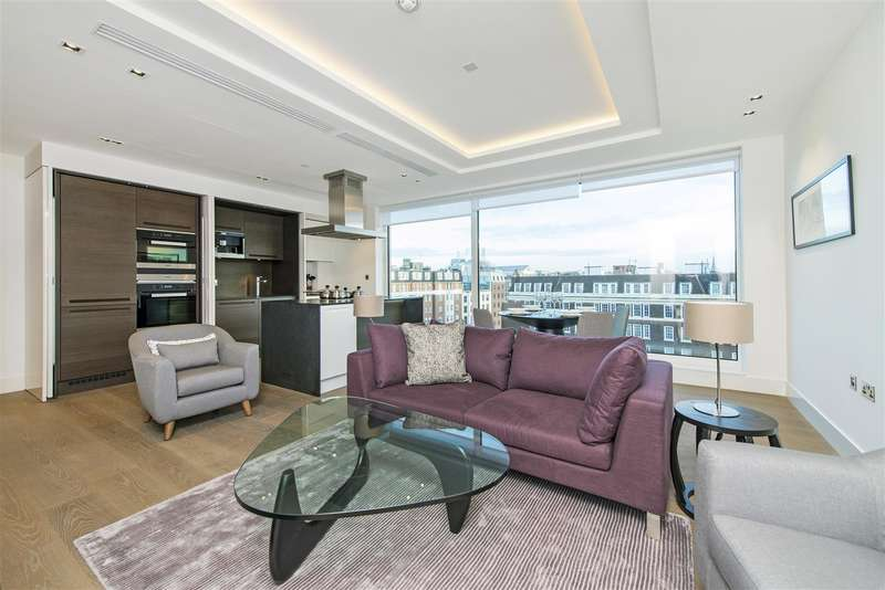 2 Bedrooms Flat for sale in Trinity House, 377 Kensington High Street, Kensington, London W14