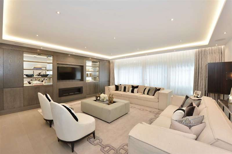 3 Bedrooms Flat for sale in Nottingham Terrace, London, NW1