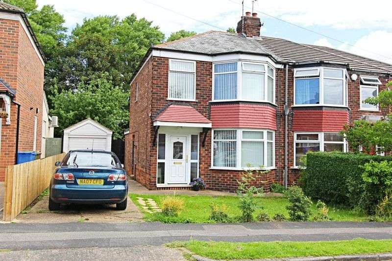 3 Bedrooms Semi Detached House for sale in Fairfield Avenue, Kirk Ella