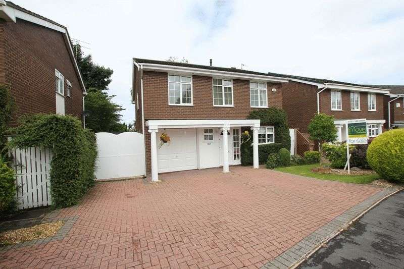 4 Bedrooms Detached House for sale in Martin Close, Irby, Wirral