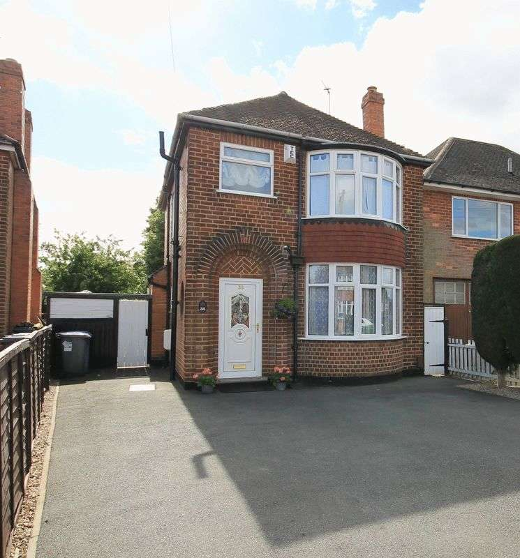3 Bedrooms Detached House for sale in WOODLANDS AVENUE, SHELTON LOCK