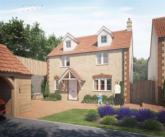 4 Bedrooms Detached House for sale in Corsley