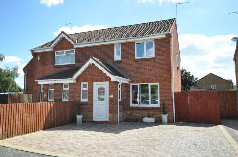 3 Bedrooms Semi Detached House for sale in Sedgefield Road, Branston
