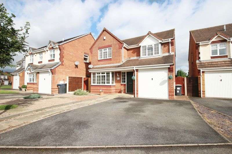 4 Bedrooms Detached House for sale in Warwick Way, Telford
