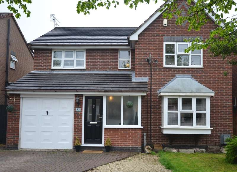 4 Bedrooms Detached House for sale in Tyler Road , Ratby