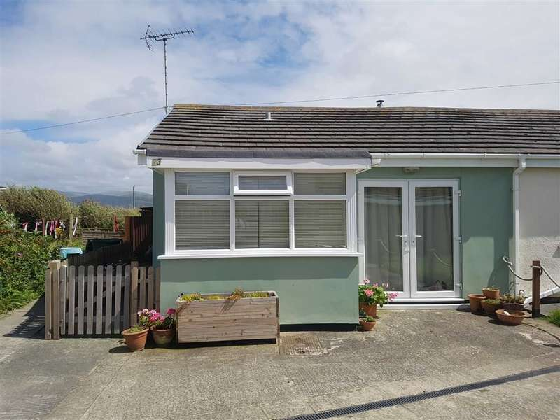 2 Bedrooms Semi Detached Bungalow for sale in Cae Gwylan, Borth