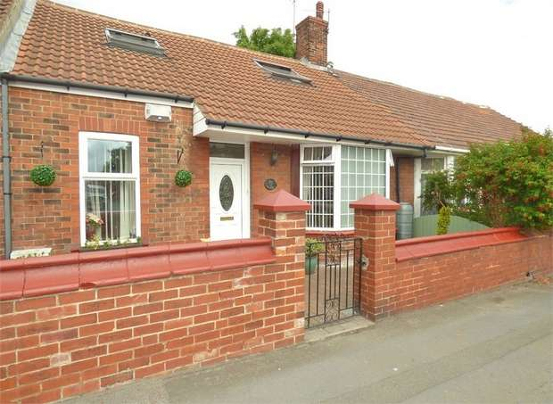 3 Bedrooms Terraced Bungalow for sale in Wood Terrace, Jarrow, Tyne and Wear