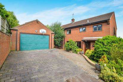 4 Bedrooms Detached House for sale in Butler Drive, Blidworth, Mansfield, Nottinghamshire