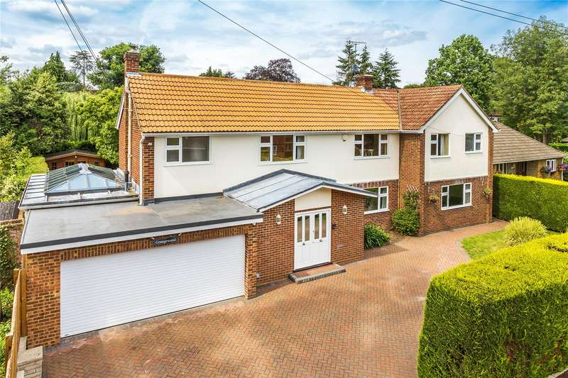 4 Bedrooms Detached House for sale in Elm Road, Horsell, Woking, Surrey, GU21