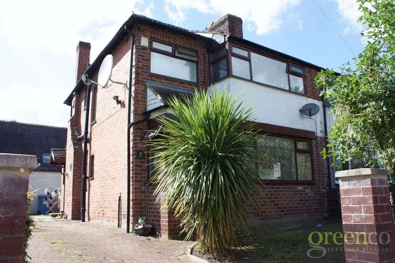 3 Bedrooms Semi Detached House for sale in Castlemoor Avenue, Salford