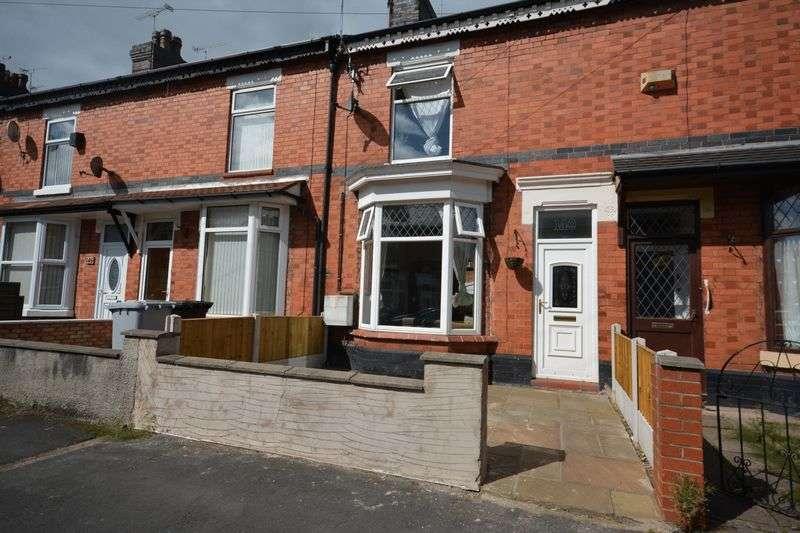 3 Bedrooms Terraced House for sale in Westminster Street, Crewe