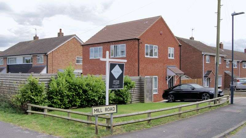 3 Bedrooms Detached House for sale in 1A Mill Road, Southam