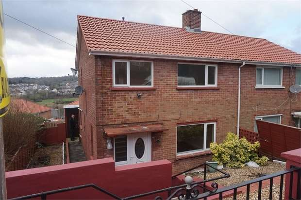 3 Bedrooms Semi Detached House for sale in Hodges Crescent, Pengam, Blackwood, Caerphilly