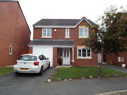 4 Bedrooms Detached House for sale in Papillon Drive, Fazakerley, Liverpool, Merseyside, L9