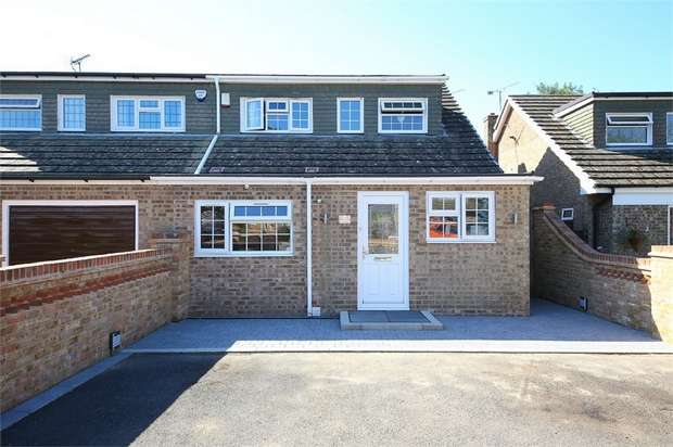 4 Bedrooms Semi Detached House for sale in Heatherwood Close, Kingswood, Maidstone, Kent