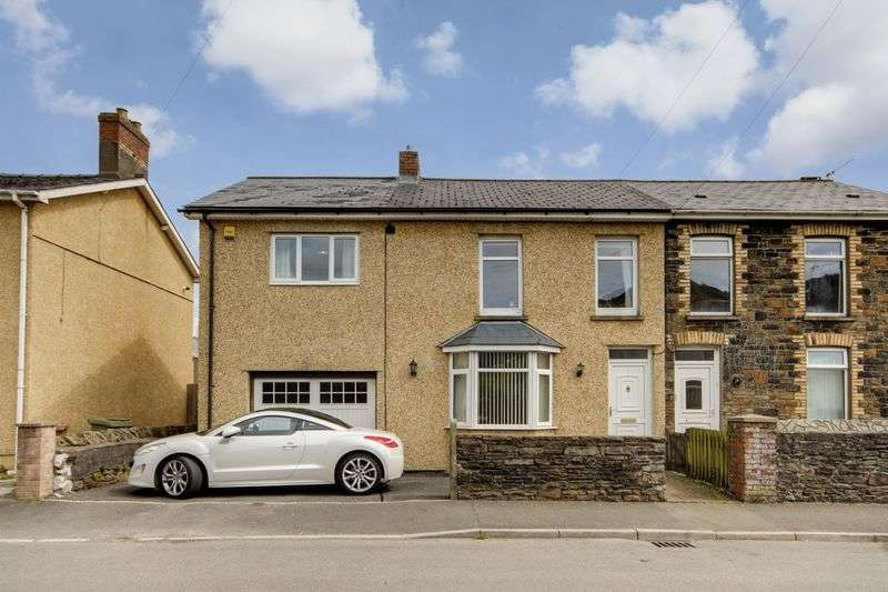 4 Bedrooms Semi Detached House for sale in Llanarth Square, Newport