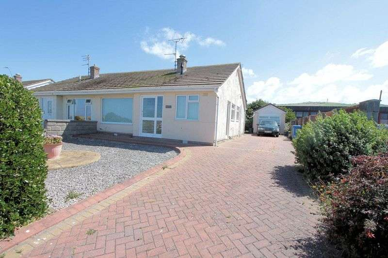 2 Bedrooms Semi Detached Bungalow for sale in Marine Road East, Prestatyn