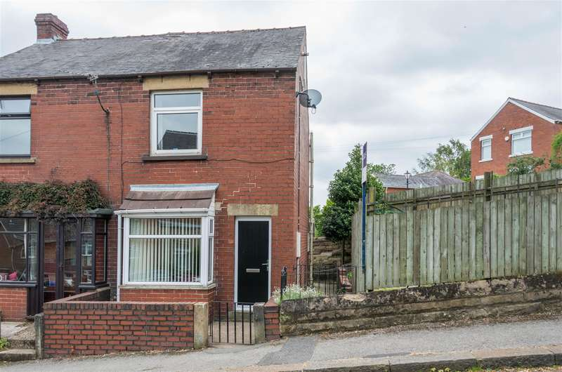2 Bedrooms End Of Terrace House for sale in Whitwell Crescent, Stocksbridge, Sheffield, S36 1GD