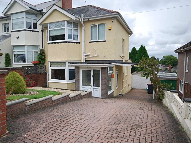 3 Bedrooms Semi Detached House for sale in Cae Perllan Road, Newport, South Wales. NP20 3FU