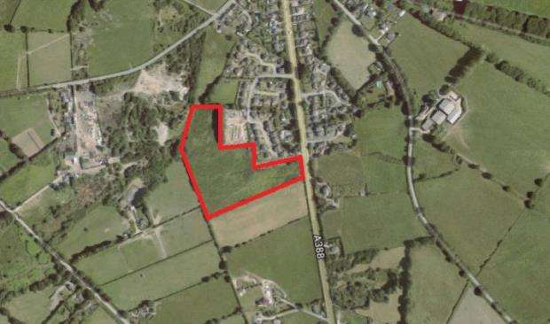 Land Commercial for sale in Land At Kelly Bray, Launceston Road, Callington, Cornwall