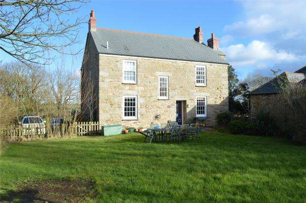 4 Bedrooms Detached House for sale in Steppy Downs Road, St Erth Praze, Hayle, Cornwall